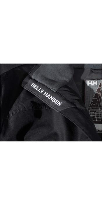 2021 Helly Hansen Crew Midlayer Jacket Black 30253