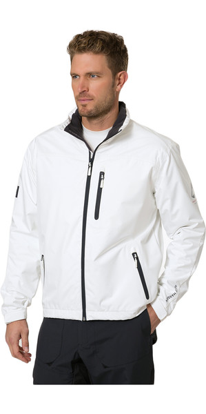 2019 Helly Hansen Crew Midlayer Jacket Bright White 30253