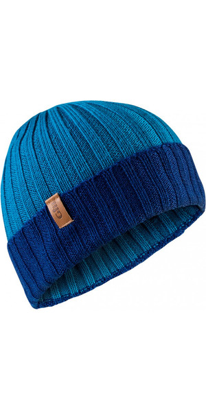 2018 Gill Wide Knit Beanie in Blue HT33