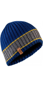 2018 Gill Band Stripe Beanie in Blue HT34