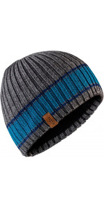 2018 Gill Band Stripe Beanie in Grey HT34