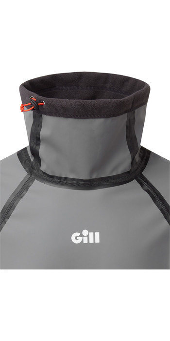2021 Gill Mens ThermoShield Dinghy Top 4367 - Steel Grey