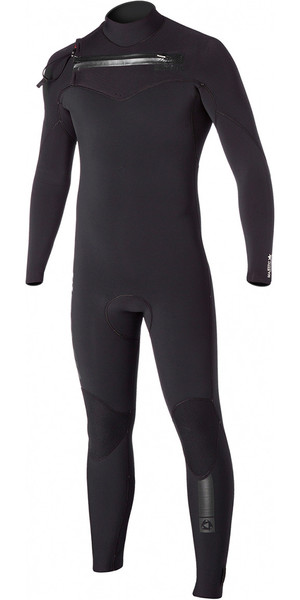 Mystic Majestic 5/3mm Chest Zip Wetsuit - Black 150005