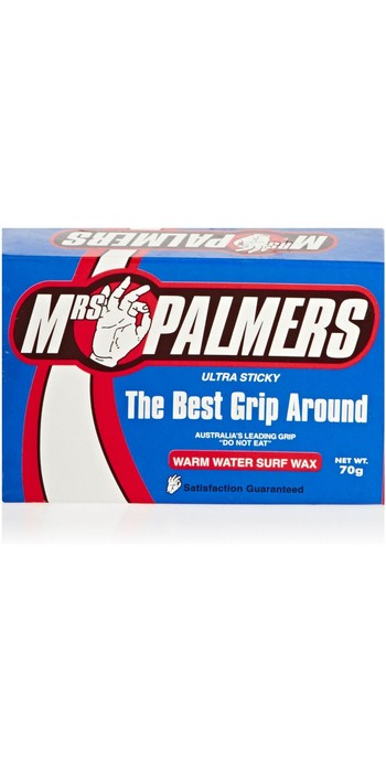 Mrs Palmers Warm Water Surf Wax