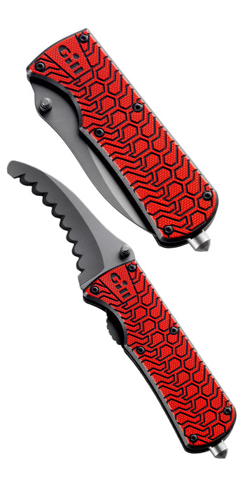 2021 Gill Folding Personal Rescue Knife MT006 RED