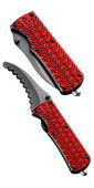 2020 Gill Folding Personal Rescue Knife MT006 RED