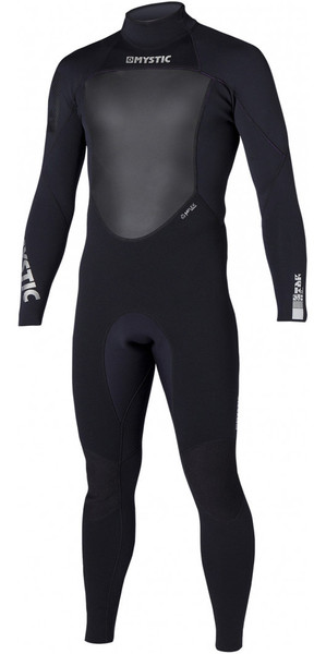 Mystic Star 3/2mm GBS Back Zip Wetsuit BLACK 140140