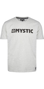 2021 Mystic Mens Brand Tee 190015 - Asphalt Melee