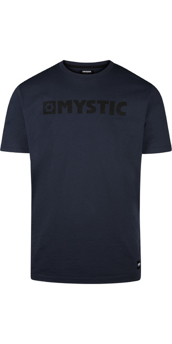 2021 Mystic Mens Brand Tee 190015 - Night Blue