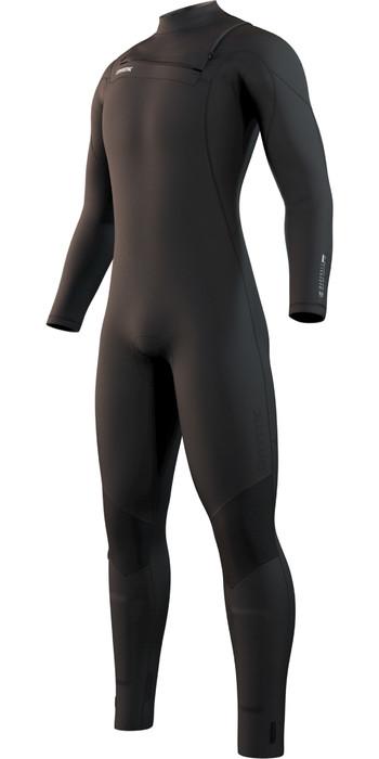 2021 Mystic Mens Marshall 4/3mm Front Zip Wetsuit 210063 - Black