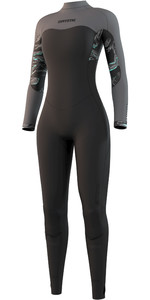 2021 Mystic Womens Dazzled 5/3mm Back Zip Wetsuit 210080 - Black
