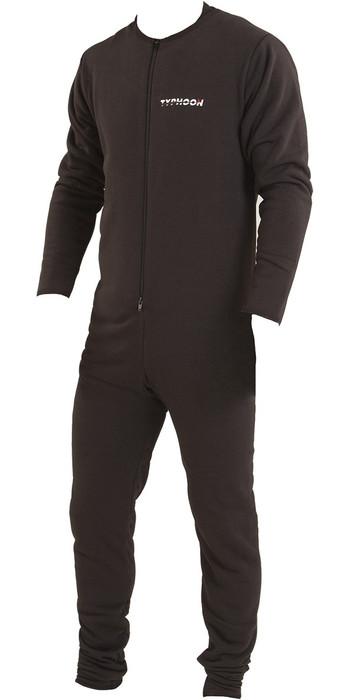 Typhoon Lightweight Drysuit Underfleece - Black