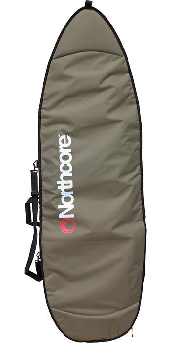 2021 Northcore Aircooled Board Jacket Shortboard Bag 6'8 NOCO27 - Olive Green