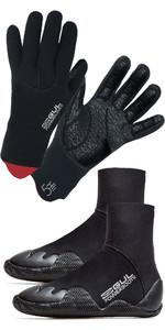 2021 GUL Junior 5mm Power Boot & Power Glove Bundle - Black
