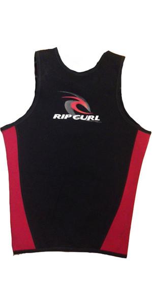 Rip Curl Classic 1mm Sleeveless Neoprene Vest RED / White logo W8614