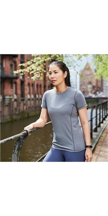 2021 Red Paddle Co Original Womens Performance T-Shirt Grey