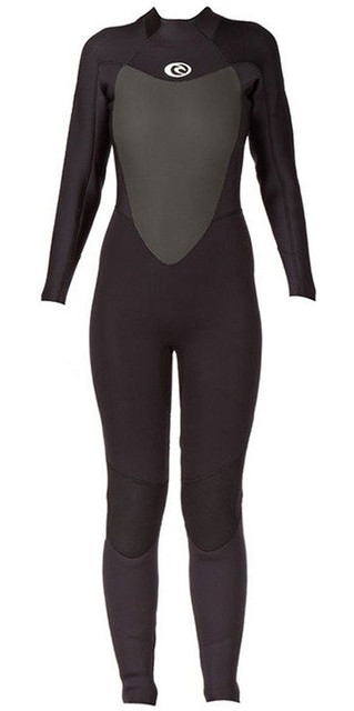 2018 Rip Curl Womens Omega 5/3mm Back Zip Gbs Wetsuit Black Wsm4mw Picture
