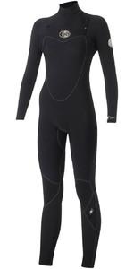Rip Curl Womens Flashbomb 5/3mm Chest Zip Wetsuit BLACK WSM5GG
