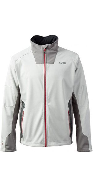 2018 Gill Race Softshell Jacket Silver RS03