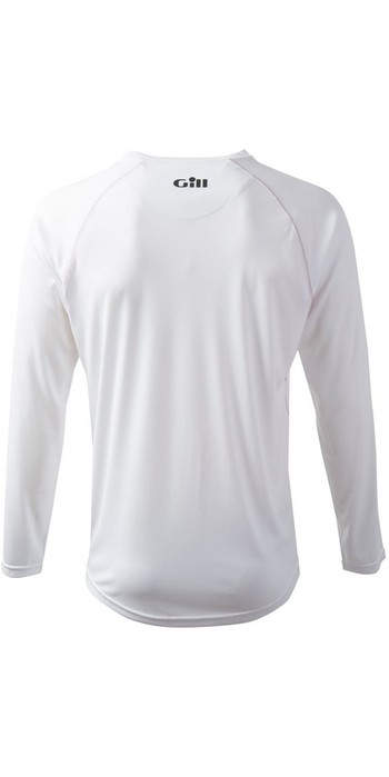 2019 Gill Race Long Sleeve T-Shirt WHITE RS07
