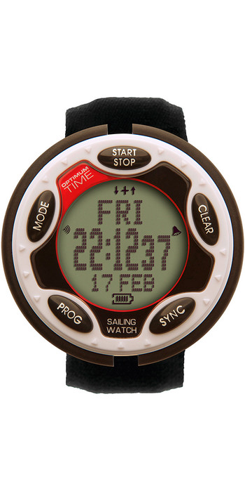 2021 Optimum Time Series 14 Rechargeable Sailing Watch White 1450R