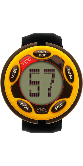 2021 Optimum Time Series 14 Rechargeable Sailing Watch YELLOW 1455R