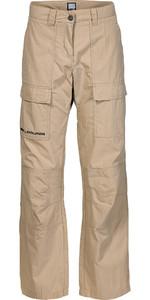 Musto Womens Evolution Fast Dry Sailing Trousers LIGHT STONE LONG LEG SE1560