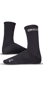 2018 Mystic 2mm Neoprene Semi Dry Round Toe Sock 070810