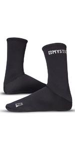 2019 Mystic 2mm Neoprene Semi Dry Round Toe Sock 070810