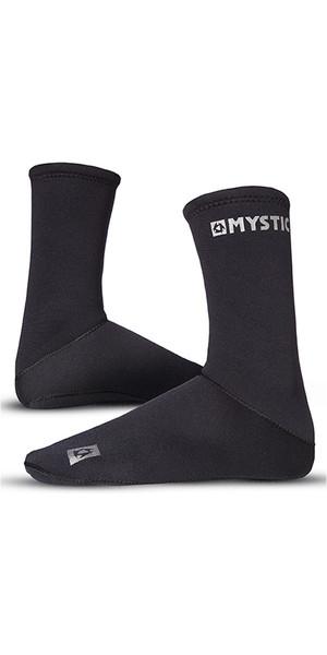 2018 Mystic 2mm Neoprene Semi Dry Round Toe Sock 070810
