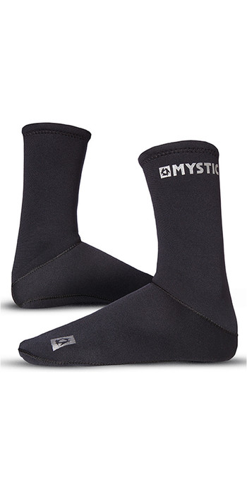 2021 Mystic 2mm Neoprene Semi Dry Round Toe Sock 070810