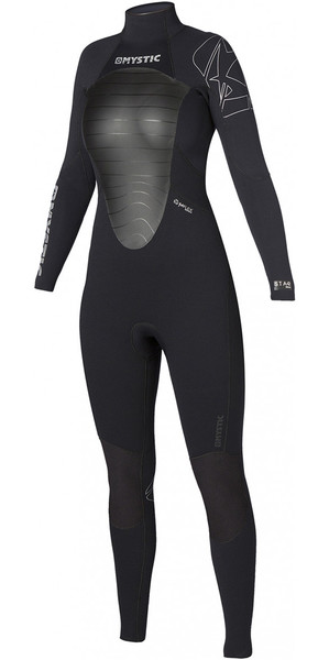 Mystic Ladies star 3/2mm GBS Back Zip Wetsuit Black 140205