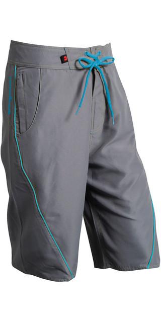 2019 Nookie Boardies Board Shorts Grey Blue Sw03 Picture