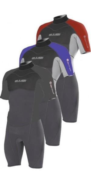 Gul Contour mens Shorty 3/2mm Wetsuit. BLACK CT3301