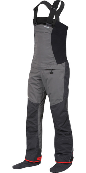 2018 Nookie Pro Bib Dry Trousers in Charcoal Grey TR11