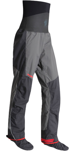 2018 Nookie Evolution Dry Trousers with SOCKS Charcoal Grey / Shadow Black TR30