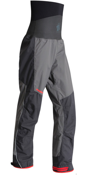 2018 Nookie Evolution Dry Trousers with LATEX SEALS Charcoal Grey / Black TR31
