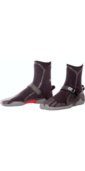 2018 Billabong Furnace 3mm Split Toe wetsuit Boot Black U4BT03