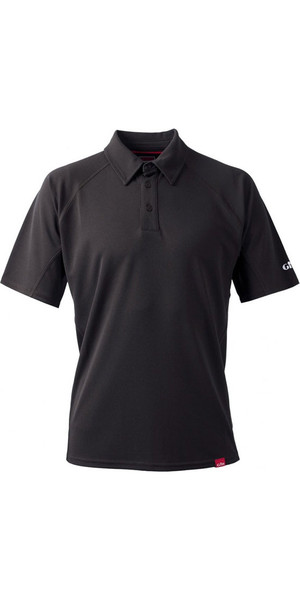 2018 Gill Mens UV Tec Polo Top CHARCOAL UV002