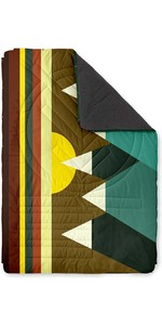 2020 Voited Recycled Fleece Outdoor Camping Pillow Blanket V18UN04BLPBC - Monadnock