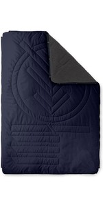 2020 Voited Recycled Fleece Outdoor Camping Pillow Blanket V20UN01BLFLC - Dark Navy