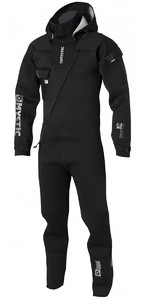 2019 Mystic Vulcanic 4mm Neoprene Front Zip Drysuit BLACK 140005