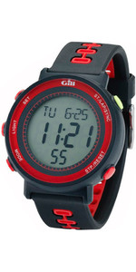 2019 Gill Race Watch Timer Black / Black / Red W013