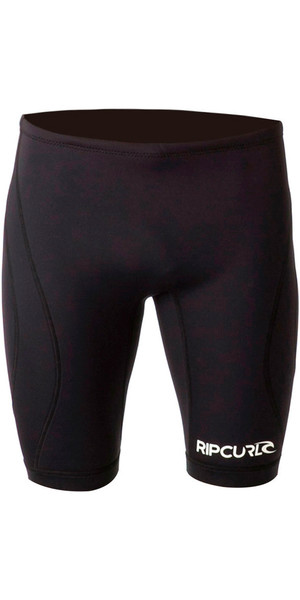 2018 Rip Curl Dawn Patrol 1mm Neoprene Shorts BLACK WSH5EM