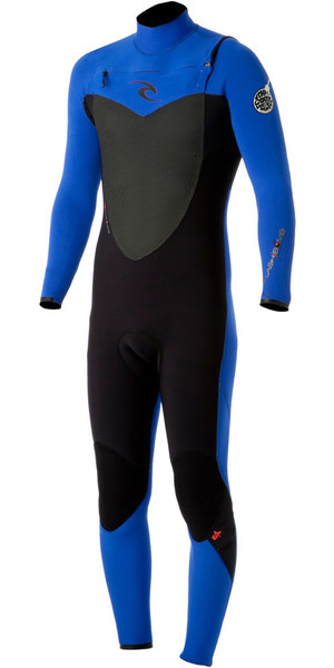 Rip Curl Flashbomb 2mm GBS CHEST ZIP Wetsuit in Black / BLUE WSM4LF