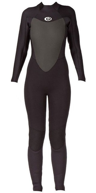 2018 Rip Curl Womens Omega 3/2mm Back Zip Gbs Wetsuit Wsm4lw Black Picture