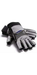 Henri Lloyd Cobra Grip Short Finger Glove CARBON Y80051