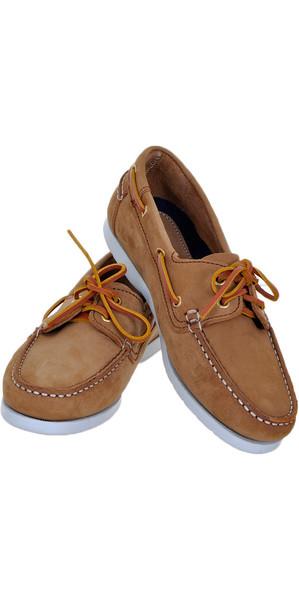 Henri Lloyd Ladies Shore Deck Shoe BROWN NUBUCK F94425