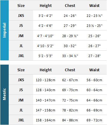 Animal Junior Wetsuits 19 0 Size Chart