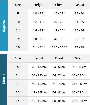 Aropec Junior Tri Suits 19 Mens Size Chart
